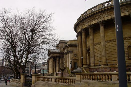 Liverpool Central Library.
