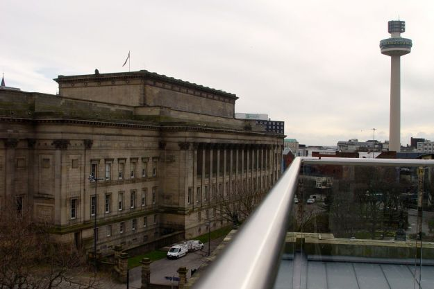 For a last look at St George's Hall.