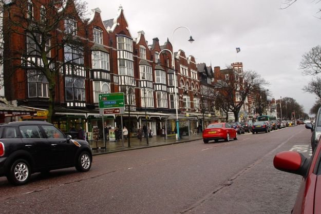 Along Lord Street.