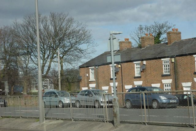 These lovely old houses on Lower House Lane.