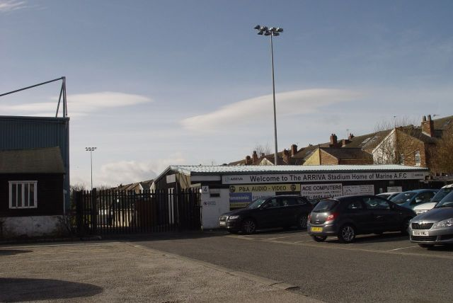 Passing Marine FC's ground.