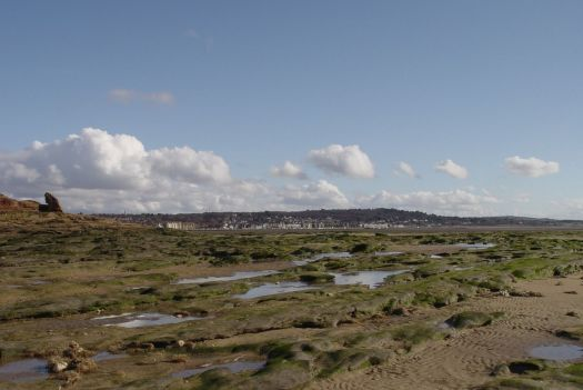 Looking back at West Kirby.