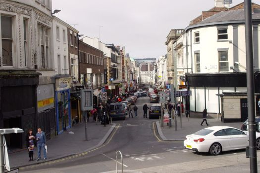 Bold Street, the independent heart of Liverpool.