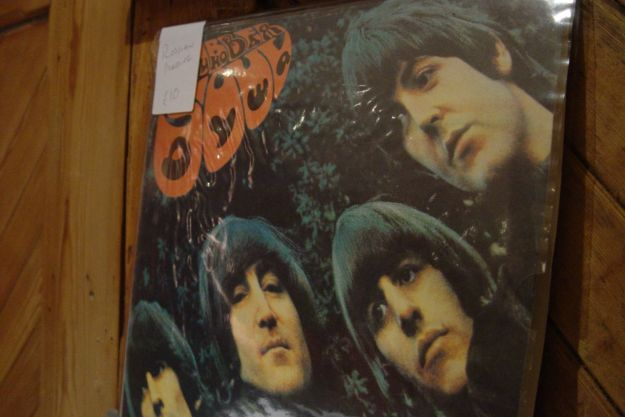 And this Russian copy of Rubber Soul.