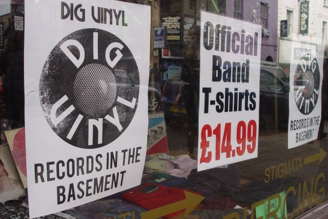 Bold Street's brand new record shop, Dig Vinyl.
