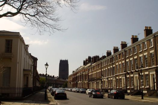 Canning Street, where I started working in housing. The most beautiful terraced street on earth.