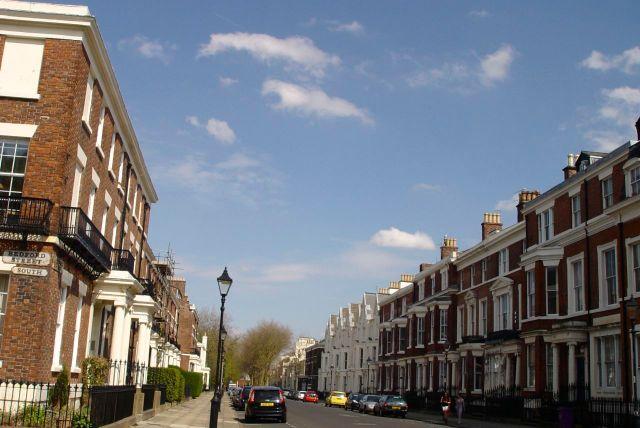Huskisson Street, the next most beautiful terraced street on earth.