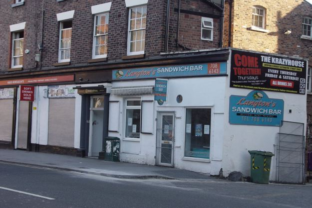 And so included Probe Records, here in its original location just off Mount Street.