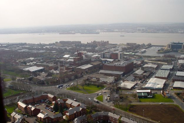 Down Parliament Street to the Marina and the Baltic Triangle.