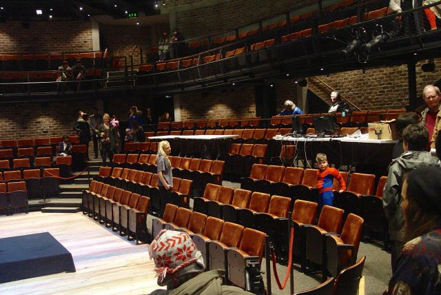 But looks and feels oddly and reassuringly familiar. This is what an 'Everyman' theatre is supposed to look like.