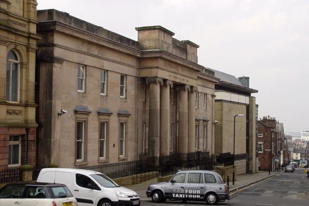 And next door, round on Mount Street, the Liverpool Institute. The grammar school where Paul and George went.