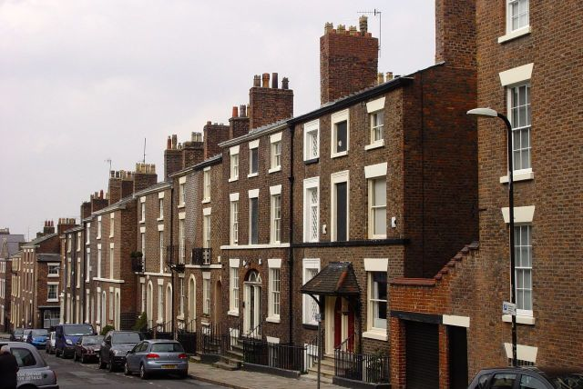 Opposite on Mount Street, Adrian Henri lived in one of these houses.