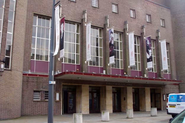 There would be occasional 'posh' recitals and concerts in the Philharmonic Hall. I'd see all 3 'Mersey Poets' in here