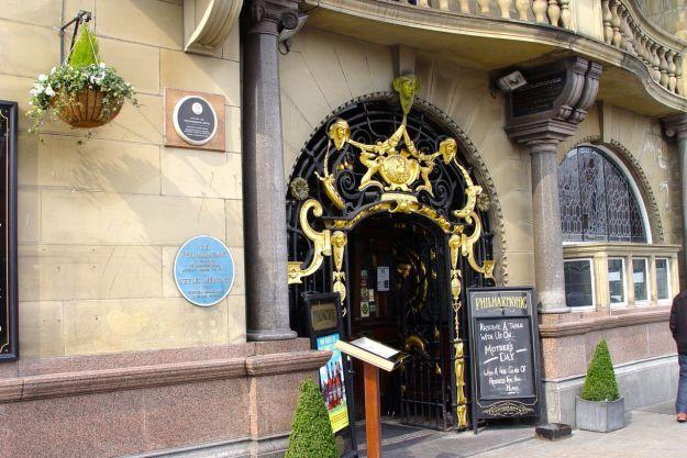 The Philharmonic pub.