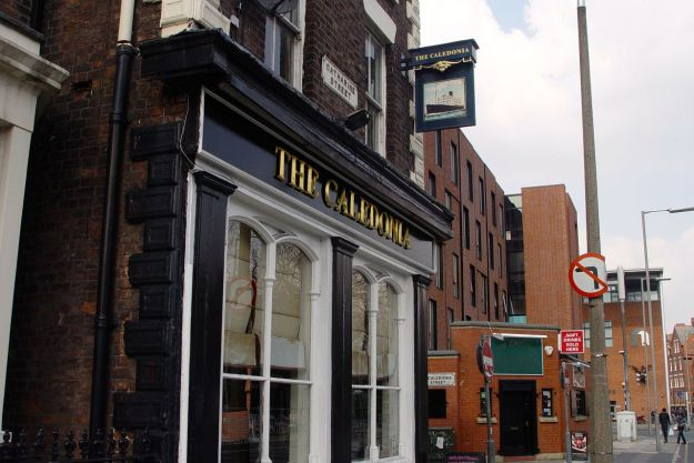 On Catharine Street, The Caledonia.