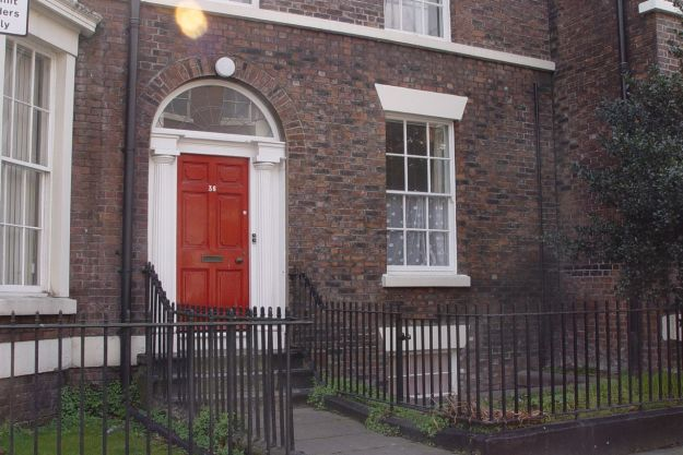 My girlfriend Pat has the flat here, on the ground floor of no.36. Formerly owned by Brian Epstein and loaned to John and Cynthia when they got married.