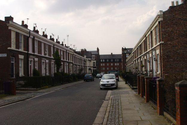 After we've walked along Egerton Street.