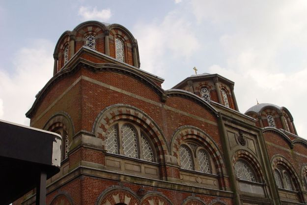 And the lovely Greek Orthodox Church of St Nicholas.