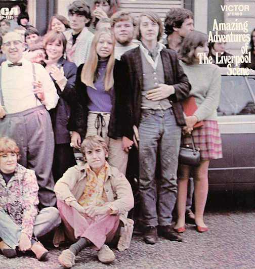 Here it is in the background of the Liverpool Scene's first LP.