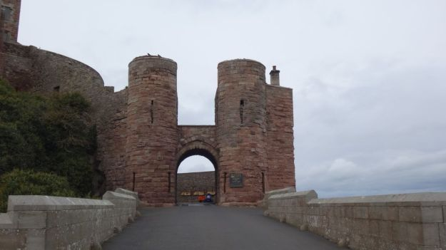 Entrance to Bamburgh Castle