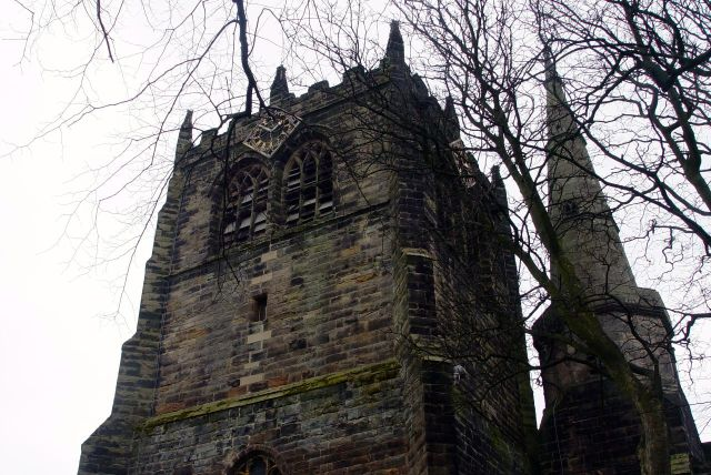But what a place, with its tower and its spire.