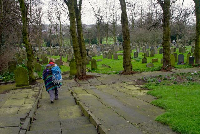 Though I used to come to Ormskirk a lot when I was younger, I've never looked round this graveyard.