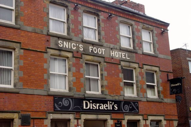 Why would you call a pub with such a strange name something relatively ordinary?