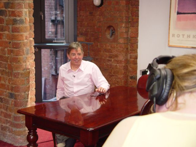 Interviewing Dave Bebb of LHT.