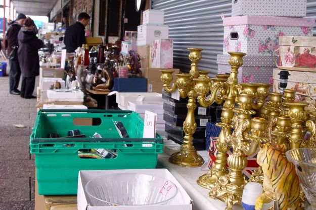 Many, many more stalls than Lark Lane.