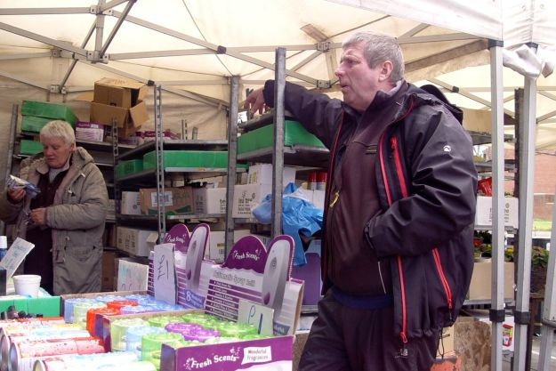 And it really wasn't hard to find disgruntled stall holders, disgusted at what's happening.