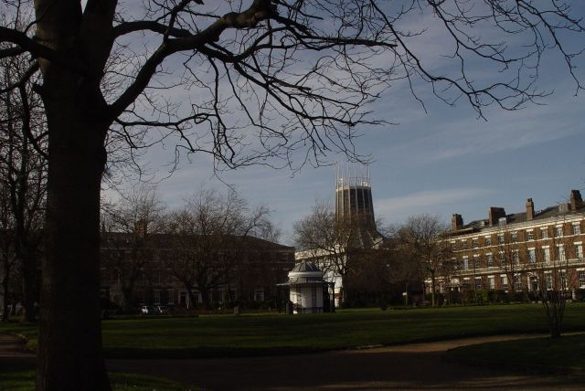 Lovely Abercromby Square, where I spent as much of my University time as possible.