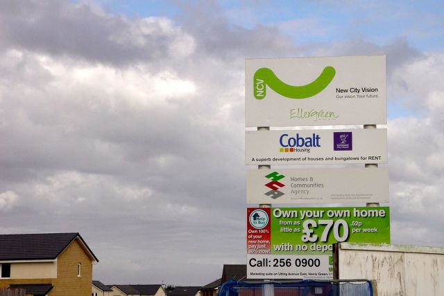 Some of the works being done by Cobalt. A local, tent-led housing association which grew from Liverpool Housing Trust, where I worked until the mid-1990s.