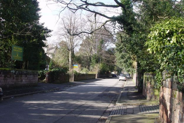 One more pleasant suburban road that can fairly claim to be one of the birthplaces of The Beatles.