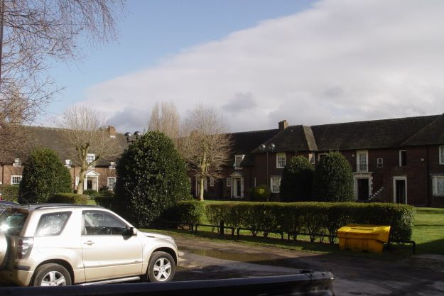 Ogden Close. It's all marked as 'Private' now but this is classic Liverpool Municipal housing.