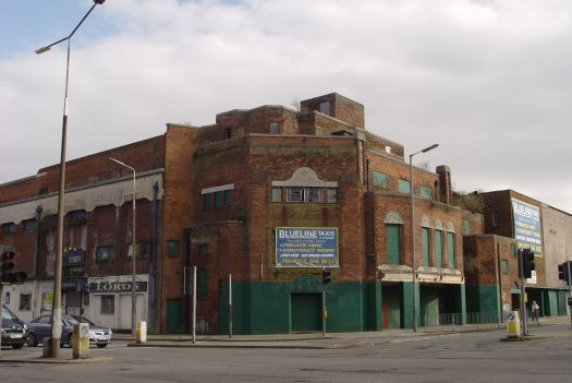 The former very, very grand Carlton cinema and theatre, now in deep distress.