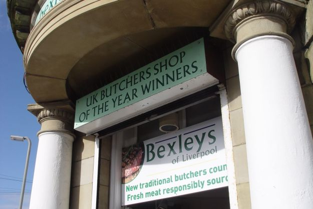 Yes it's Bexley's, the Butcher's Shop of the Year.