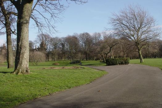 And into Newsham Park.