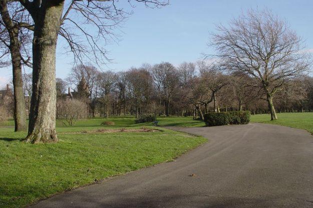 And into Newsham Park.