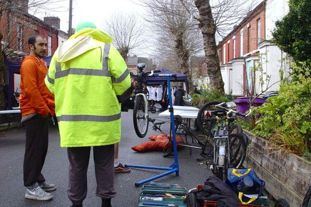 Many bikes got repaired.