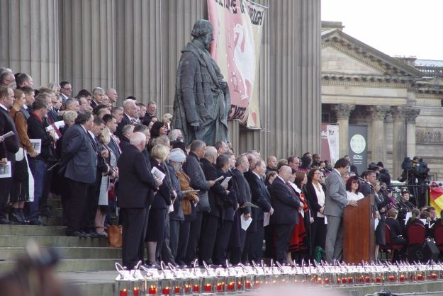 The families of the 96. September 2012. The day we got the truth.