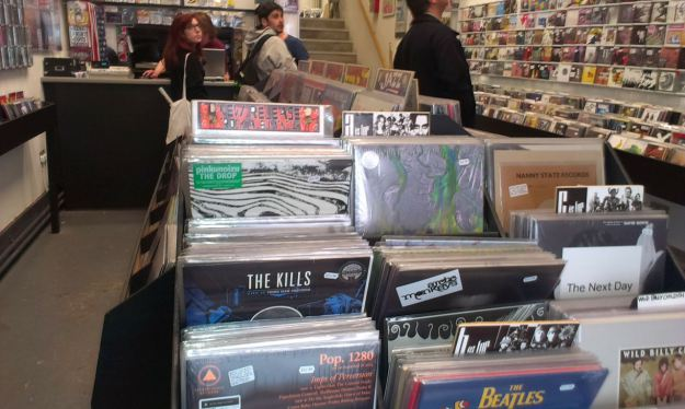 Probe Records. CDs reduced to a spectating role, you'll note.