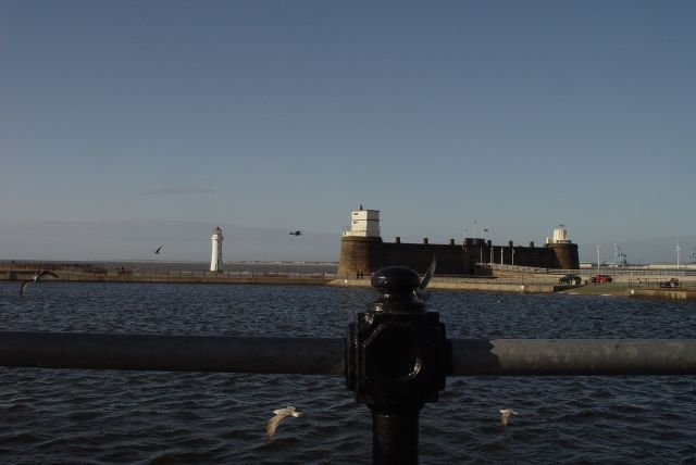Fort Perch Rock. More a museum than a fort these days.