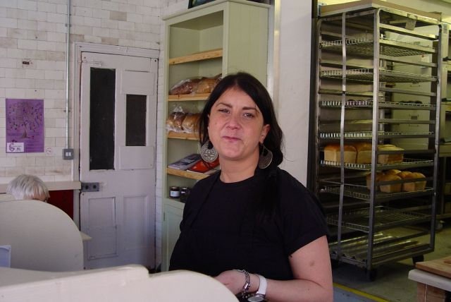 We tell everyone about the blog too. Here's Janice from Homebaked.