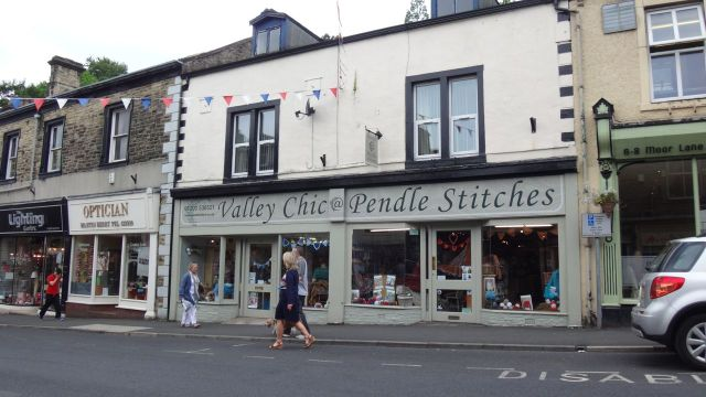 For a small town it's amazingly well off for wool and haberdashery shops.