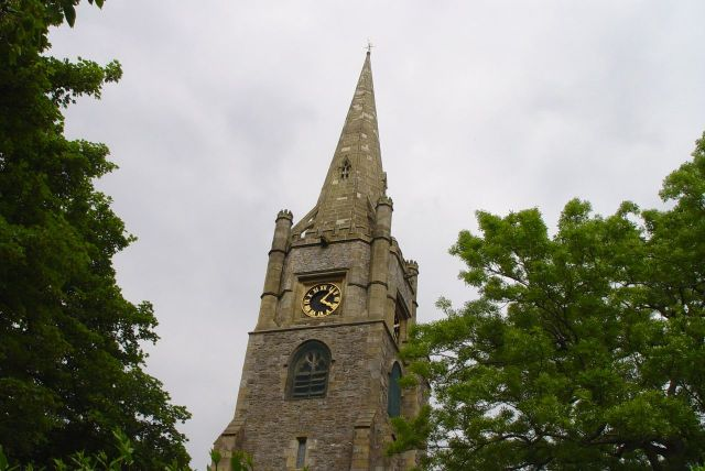 The Church of St Mary Magdelene.