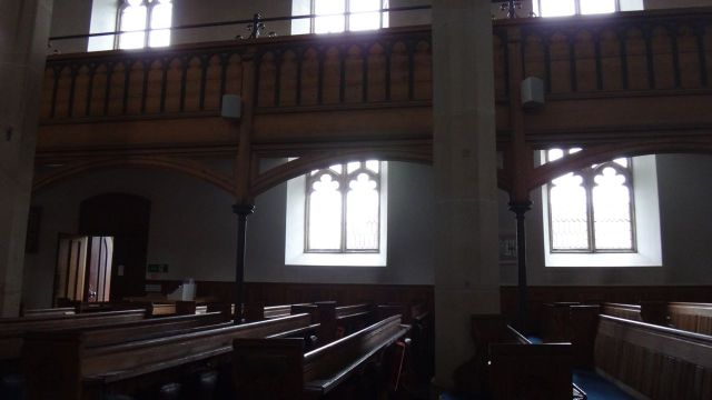 The church is open, so we go in for a look.