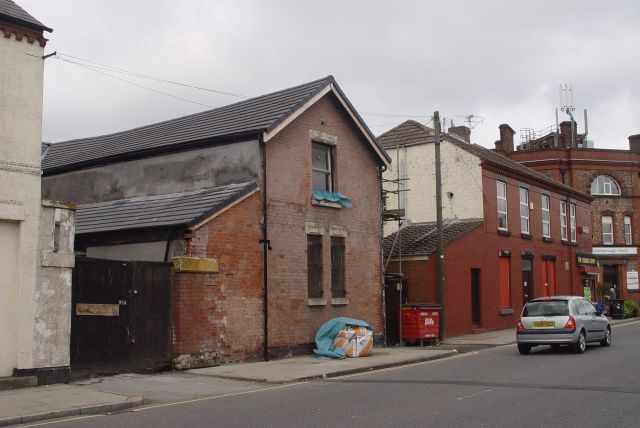 95 Gainsborough Road, Wavertree. Cow House.