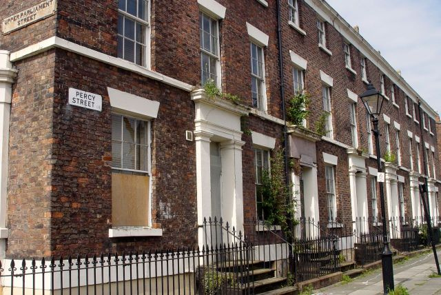 Along Percy Street, this block has been empty a very long time now. Anyone know why?