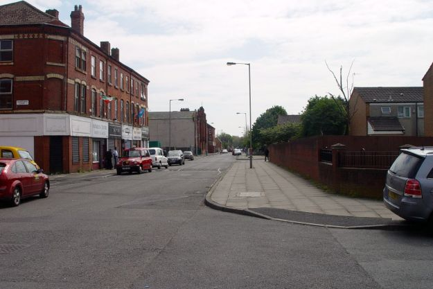 And back into Granby Street.