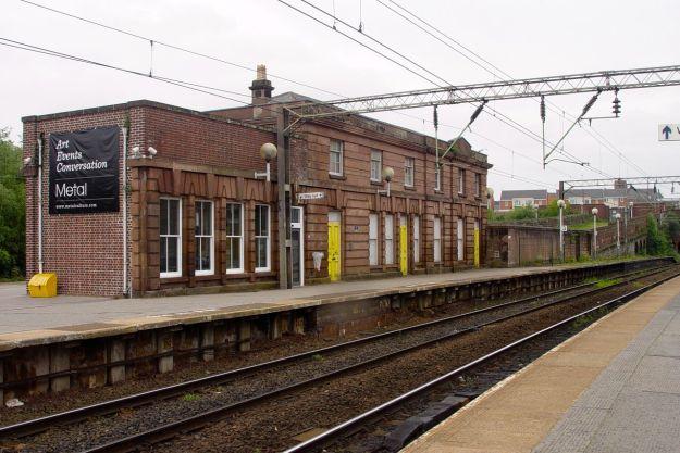 Edge Hill station.